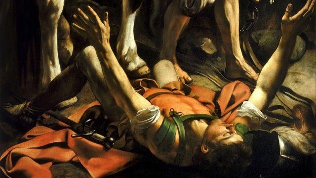 The Conversion of St. Paul Caravaggio