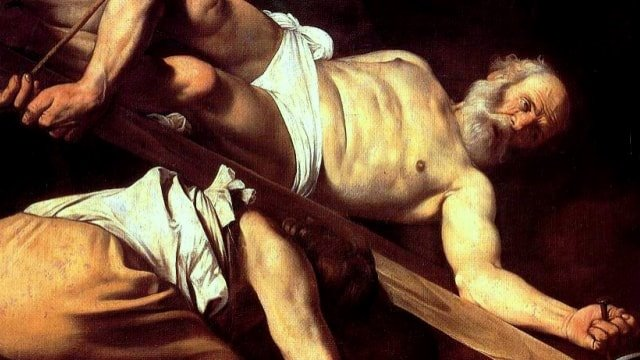 The Crucifixion of St. Peter Caravaggio
