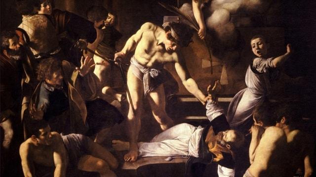 The Martyrdom of St. Matthew Caravaggio