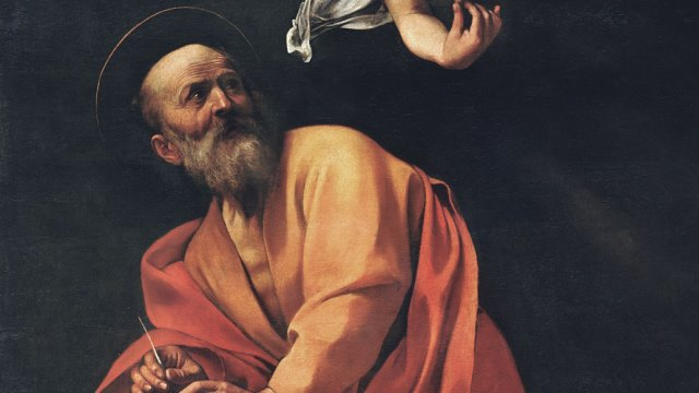 St. Matthew and the Angel Caravaggio