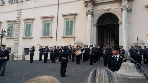Quirinale band in Rome