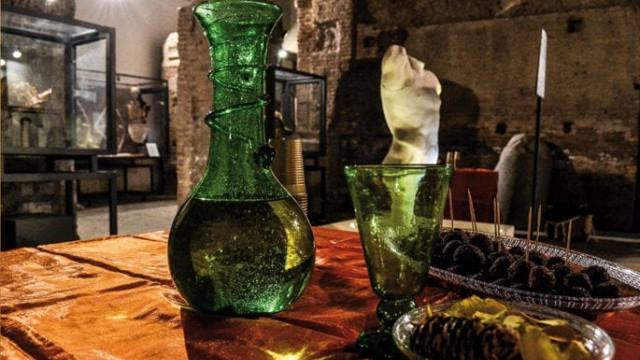 Ancient aperitif in Rome
