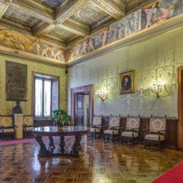 The Risorgimento room in Palazzo Madama