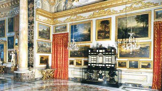 Colonna Palace: the Hall of Landscapes