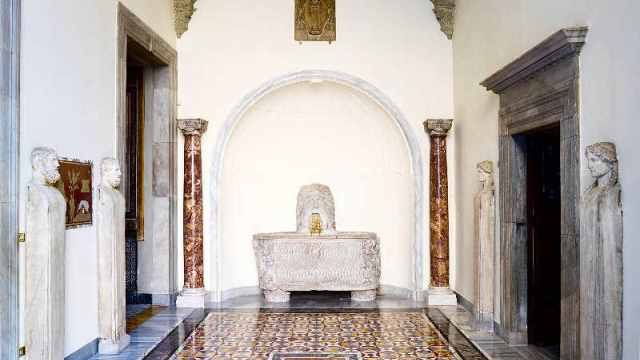 Colonna Palace: the Mask Room