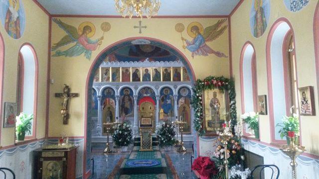 Icone di Santi nella chiesa ortodossa