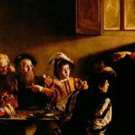 Vocazione di San Matteo di Caravaggio
