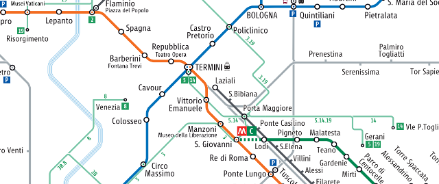 Mappe di Roma gratis