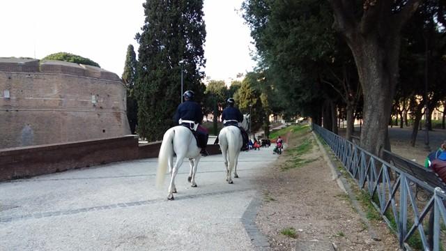 Parco di Castel Sant'Angelo a Roma: la Mole Adriana