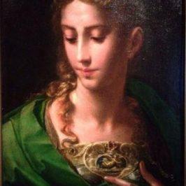 Pallas Athena di Parmigianino
