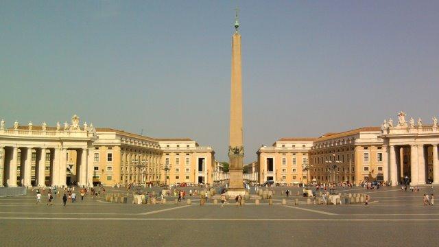 Piazza San Pietro e Via della Conciliazione