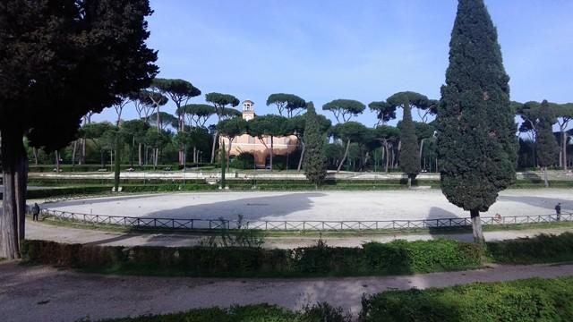 Piazza di Siena - Villa Borghese