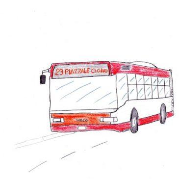 Autobus 23 a Roma