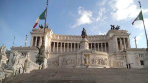 Altare della Patria a Roma o Vittoriano