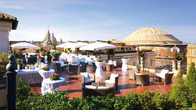 Roof garden Hotel de la Minerve