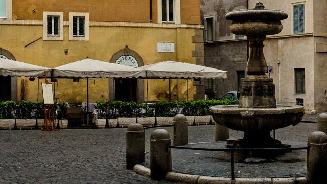 Osteria dell'Antiquario a Roma