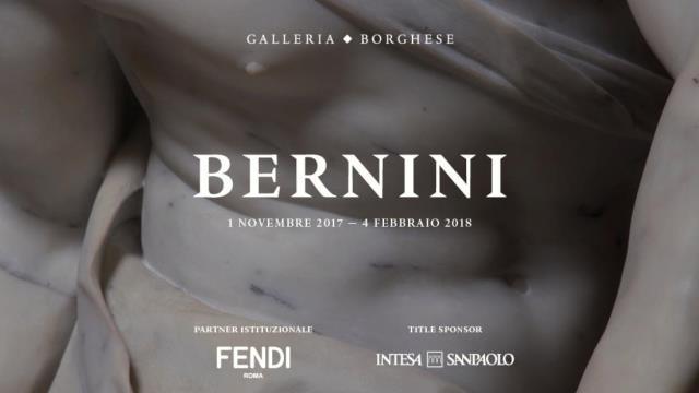Mostra di Bernini alla Galleria Borghese a Roma