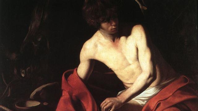 San Giovanni Battista. Caravaggio a Palazzo Corsini