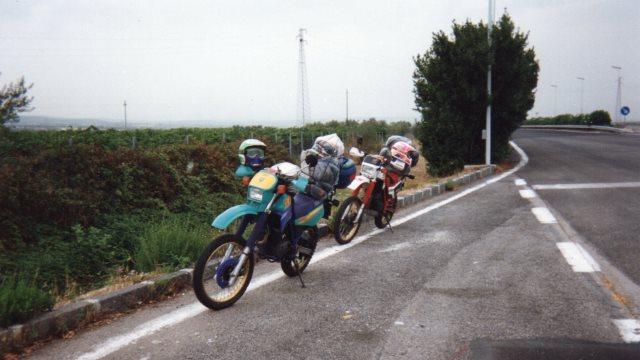 Itinerario in moto nei dintorni di Roma
