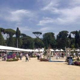 Piazza di Siena a Roma