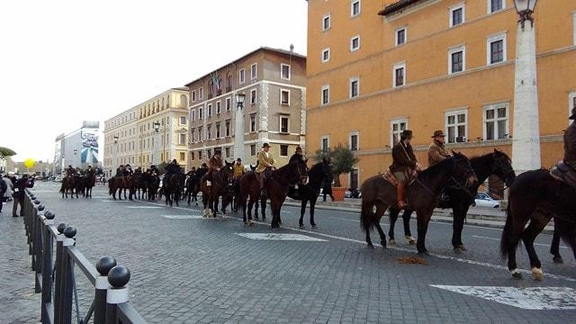 17 gennaio festa di Sant'Antonio Abate a Roma