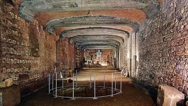 Basilica di San Clemente: i sotterranei