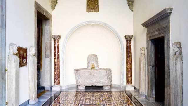 Palazzo Colonna: sala del Mascherone