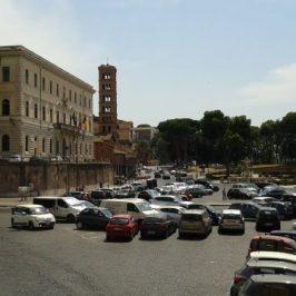Arrivare a Roma in auto: zona Bocca della verità