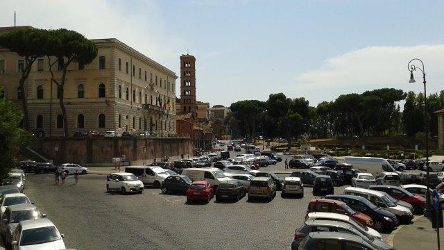 Arrivare a Roma in auto