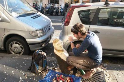 Street art inRome: Andrea Gandini