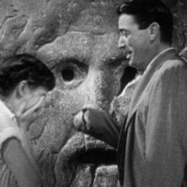 Audrey Hepburn e Gregory Peck alla Bocca della Verità