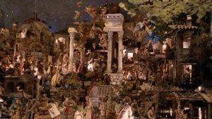 Presepe della basilica dei ss Cosma e Damiano