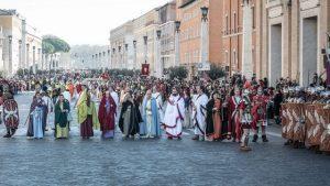 Festa della Befana a Roma Corteo storico