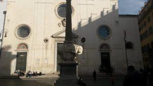 Visitare Roma a piedi Piazza della Minerva