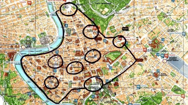 5  zone strategiche dove dormire a Roma