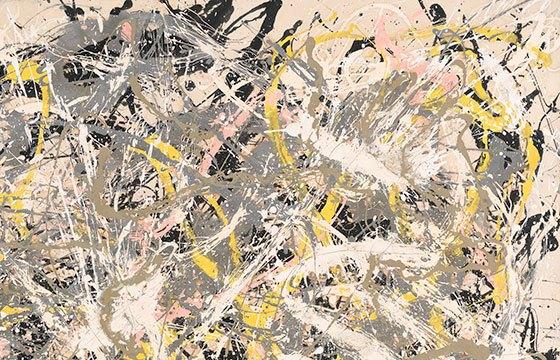 Mostra di Pollock a Roma